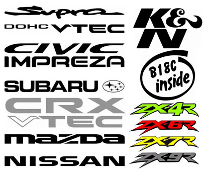We have thousands of decals in our extensive digital catalougue but if you have your own design then feel free to contact us we will do our best to